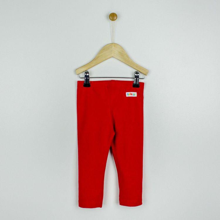 Kids-Uni-SkinnyPants - Rot