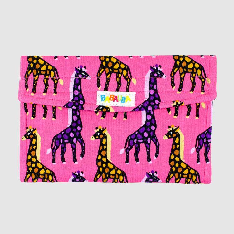 Spielkartenetui - MosaicGiraffs-Pink