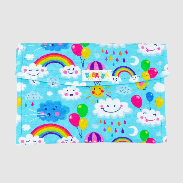 Spielkartenetui - RainbowsAndClouds-Blue
