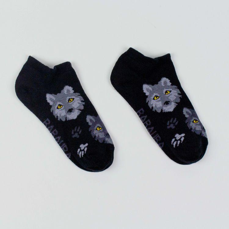 Sneaker-SockiSocks - BlackWolf-GrauEdition
