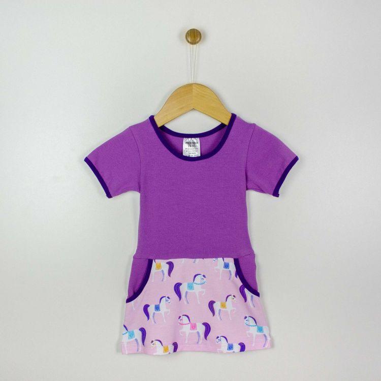 Baby-Kurzarm-PocketDress - PrincessPonys
