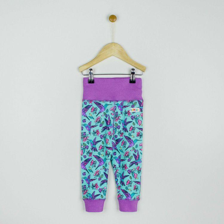 Baby-BabyPants - Hummingbirds-Blue