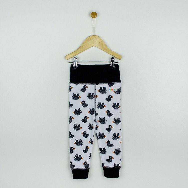 Baby-BabyPants - CuteCrows-SchwarzEdition