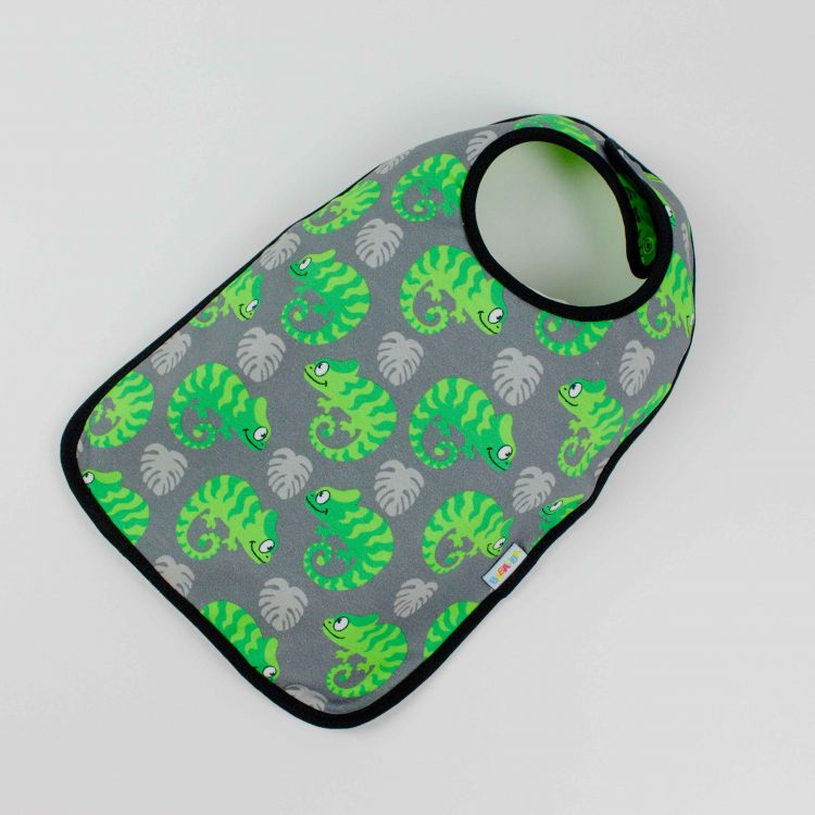 Lätzchen ExoticChameleons-Green