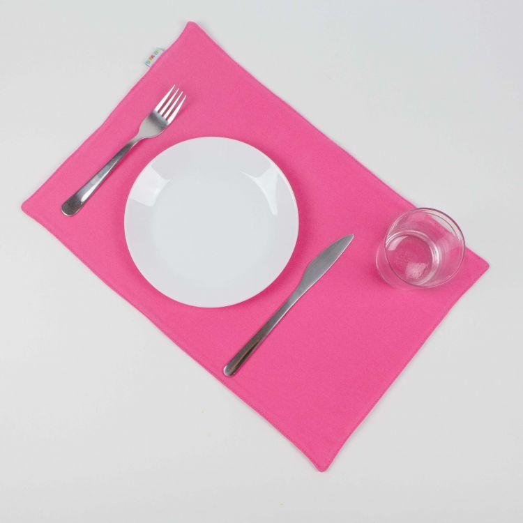 Uni-Platzset - Rosa