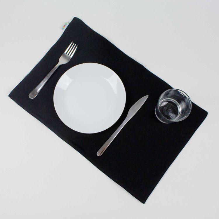 Uni-Platzset - Schwarz