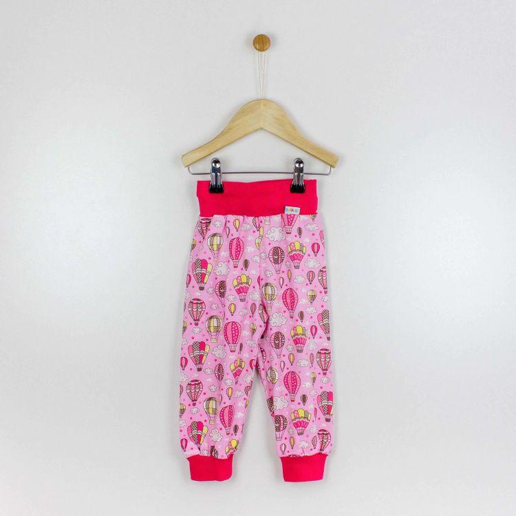 Kids-Widepants - MontgolfiereBalloons-Pink