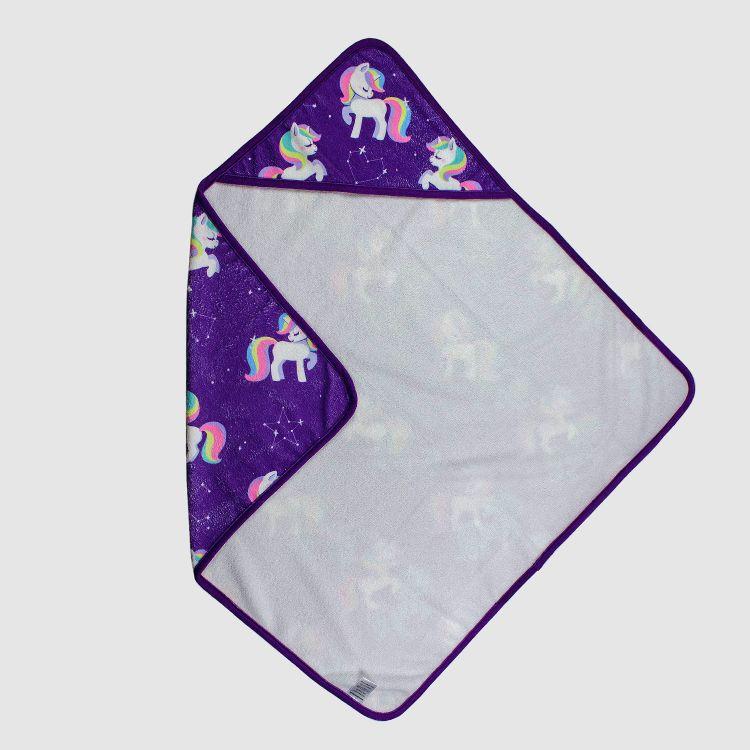 Kapuzen-Handtuch GalaxyUnicorns