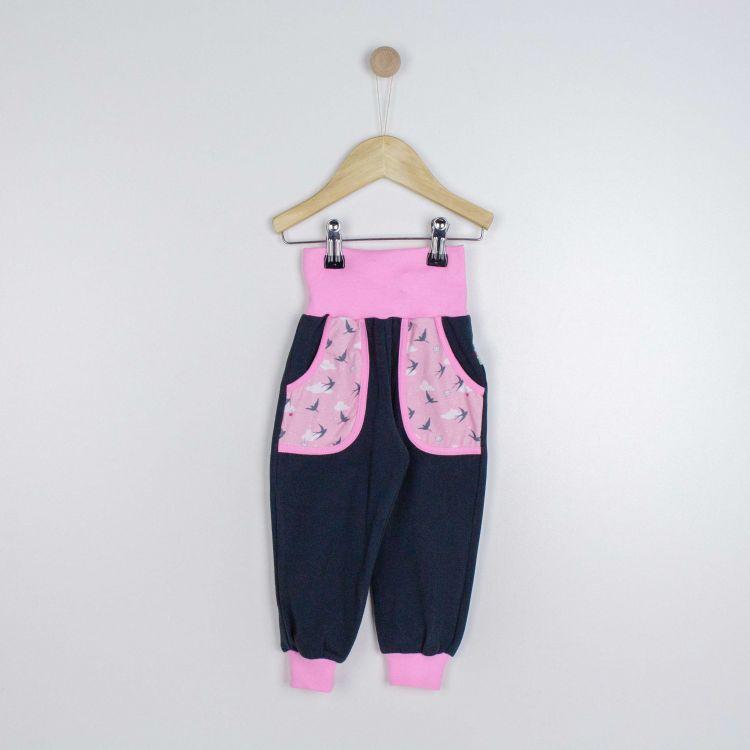 Kids-Jersey-CoolPocketPants - LovelySwallows-Pink