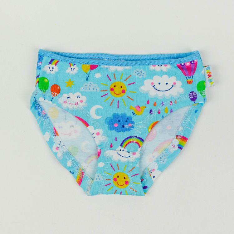 Underpants RainbowsAndClouds-Blue-BabyblauEdition