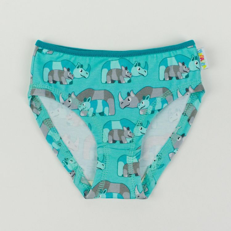 Kids-Underpants - RhinoFamily-Mint