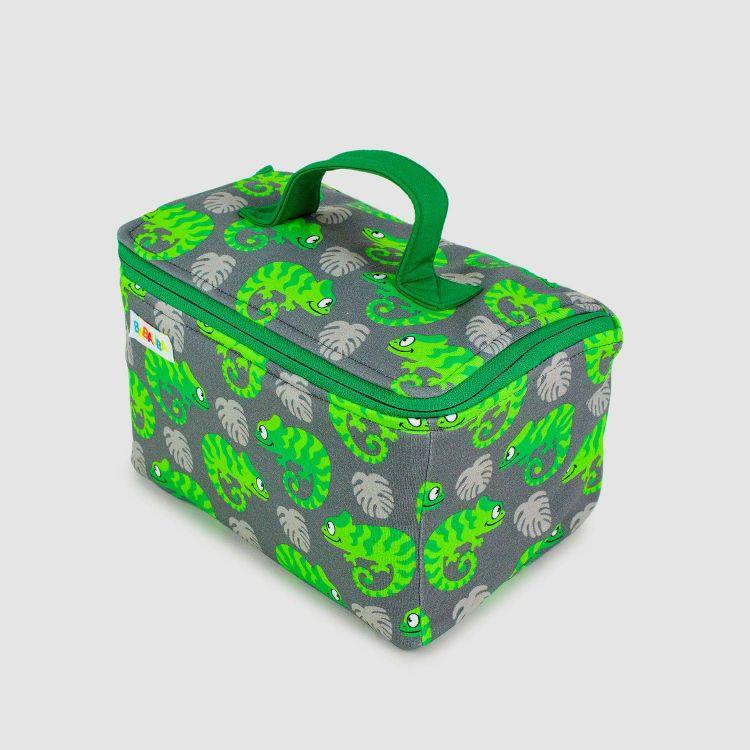 Kulturtasche ExoticChameleons-Green
