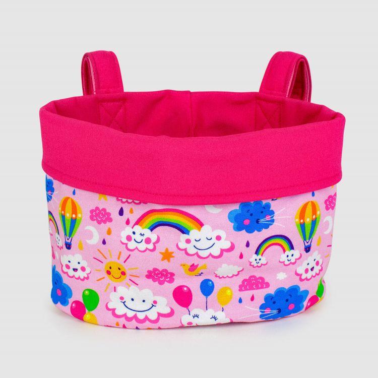 Baskets - RainbowsAndClouds-Pink