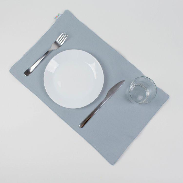 Uni-Platzset - Grau