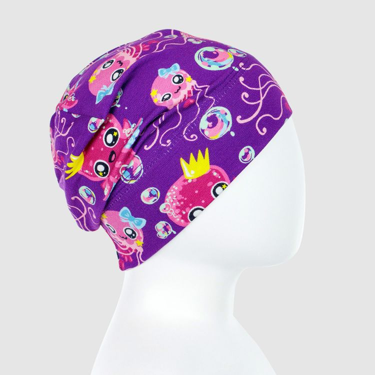 Beanie-ComfyStyle SweetOctopus-Purple