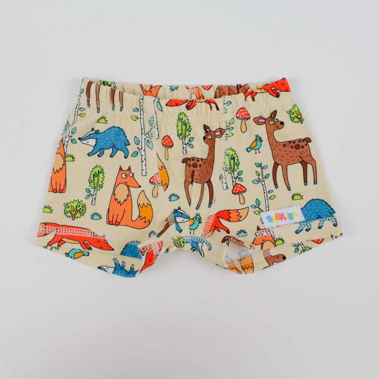 Kids-Boxershorts - HappyForestAnimals