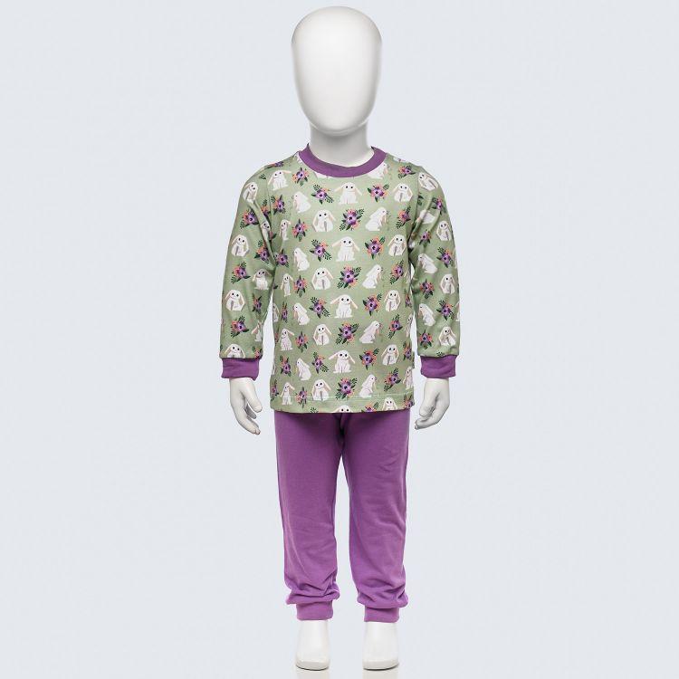 Pyjama-Set FloralBunny-LavendelEdition