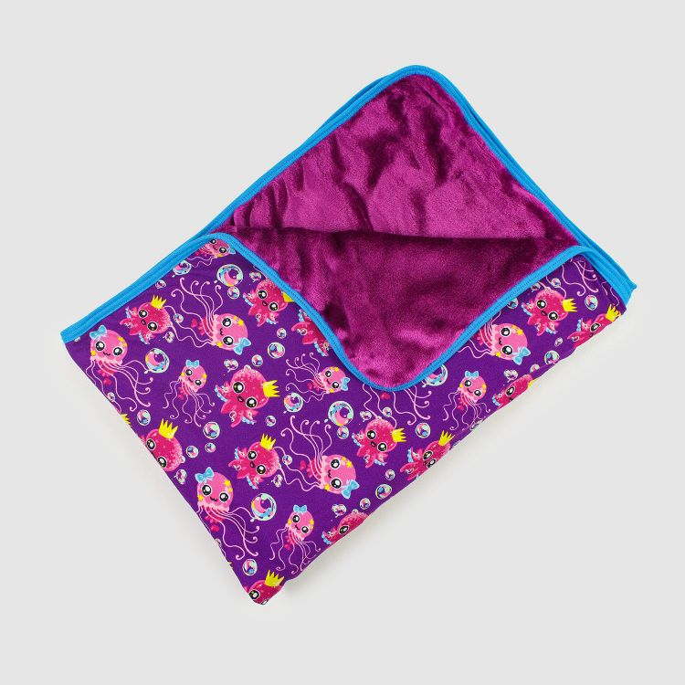 Kuscheldecke Regular - SweetOctopus-Purple