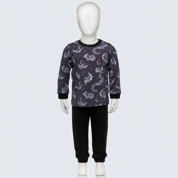 Pyjama-Set DarkBats-SchwarzEdition