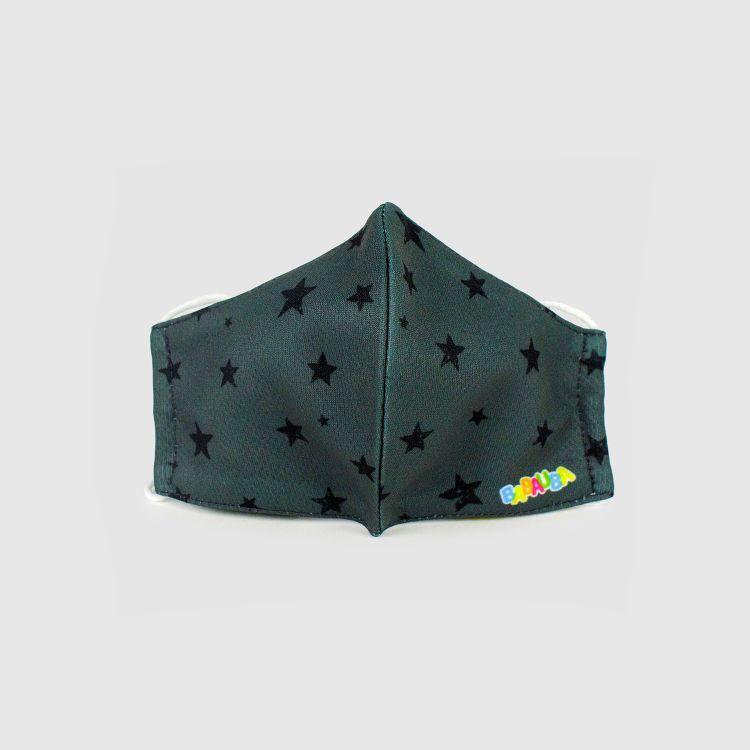 PrettyMask für Kinder - NightSky-Grey