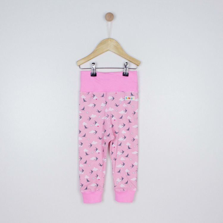 Kids-BabyPants - LovelySwallows-Pink