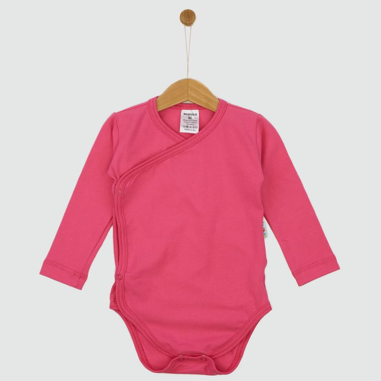 Baby-Uni-Wickelbody - Rosa