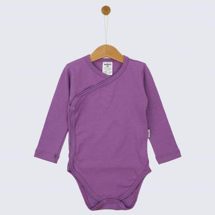 Baby-Uni-Wickelbody - Lavendel