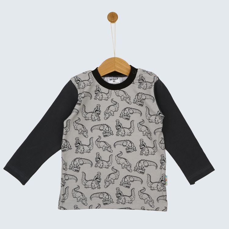 Kids-Langarmshirt - CrocoCrew
