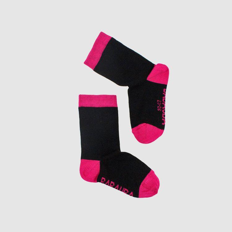Baby-Uni-SockiSocks - Schwarz-Pink