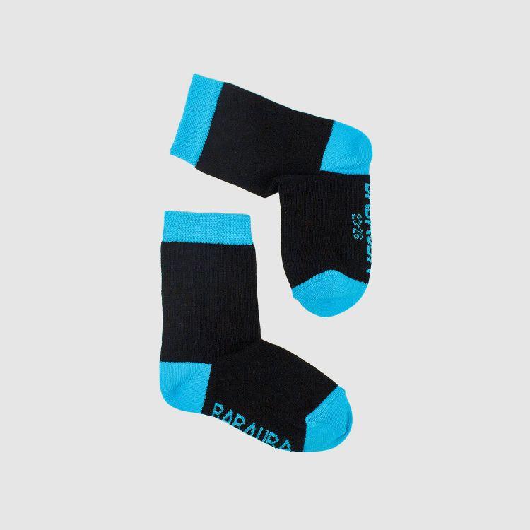 Uni-SockiSocks - Schwarz-Türkisblau