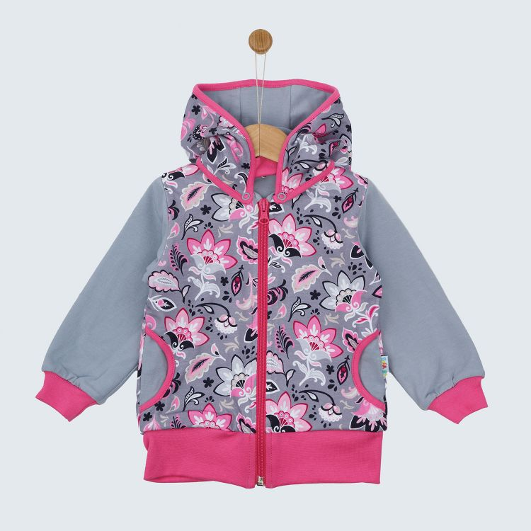 Kids-HoodieH2 - PaisleyFlowers