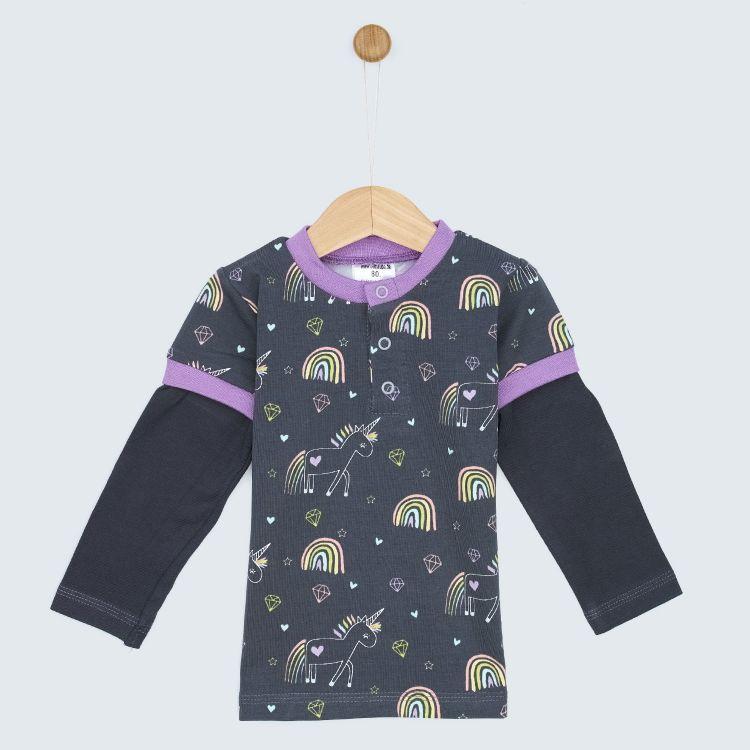 Langarm-T-Shirt UnicornArt