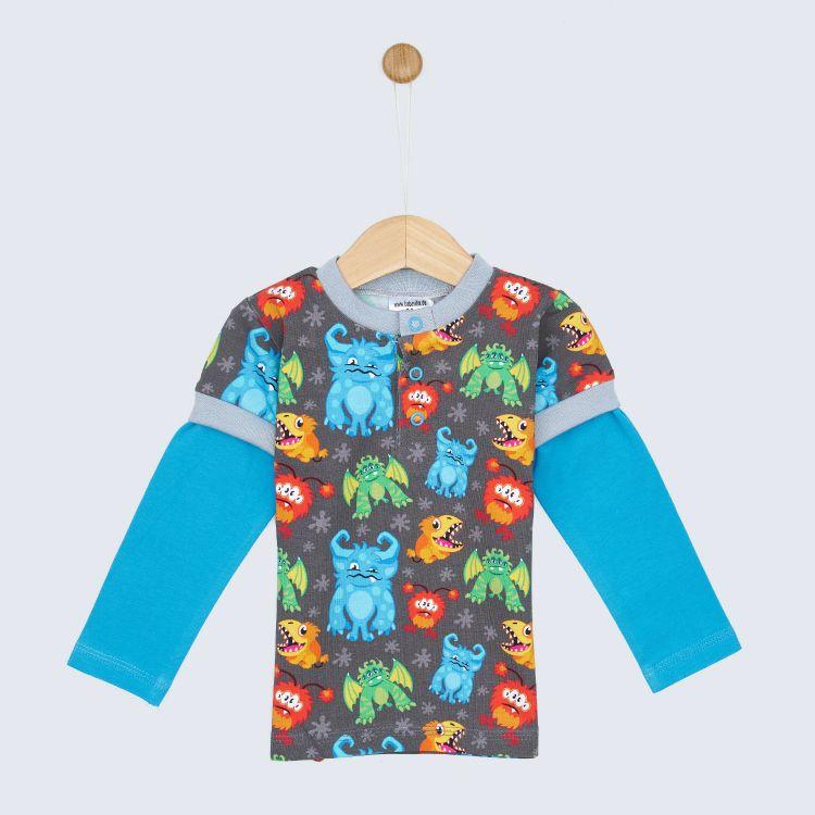 Langarm-T-Shirt BigCrazyMonsters