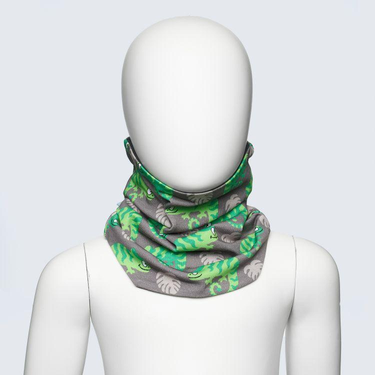 Loop-Schal ExoticChameleons-Green