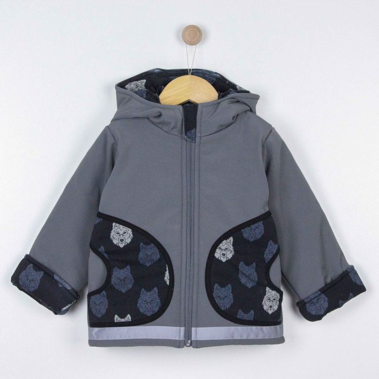 Kids-Winter-Softshelljacke - BlackWolf
