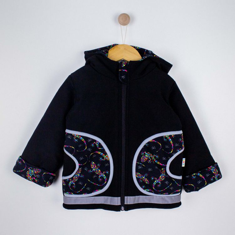 Kids-Winter-Softshelljacke - DiamantSalamander-Black