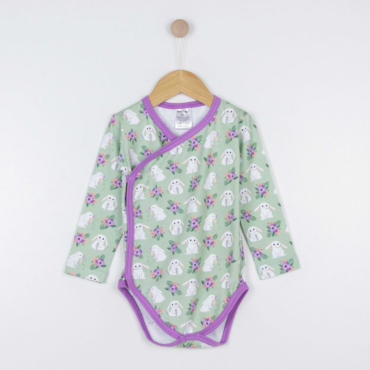 Baby-Wickelbody - FloralBunny