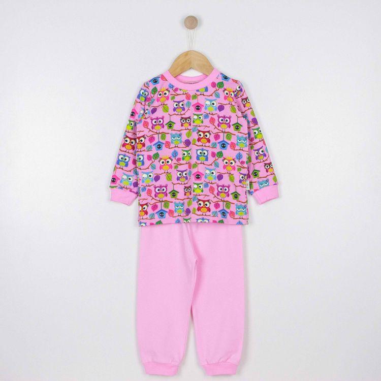 Pyjama-Set BabaubaHoots-Pink-BabyrosaEdition