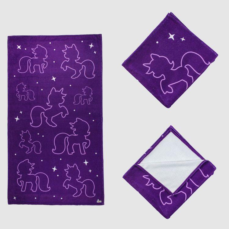 Badetuch PurpleUnicorn