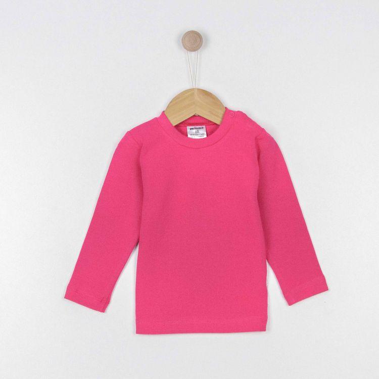 Baby-Uni-Langarmshirt - Cyklame