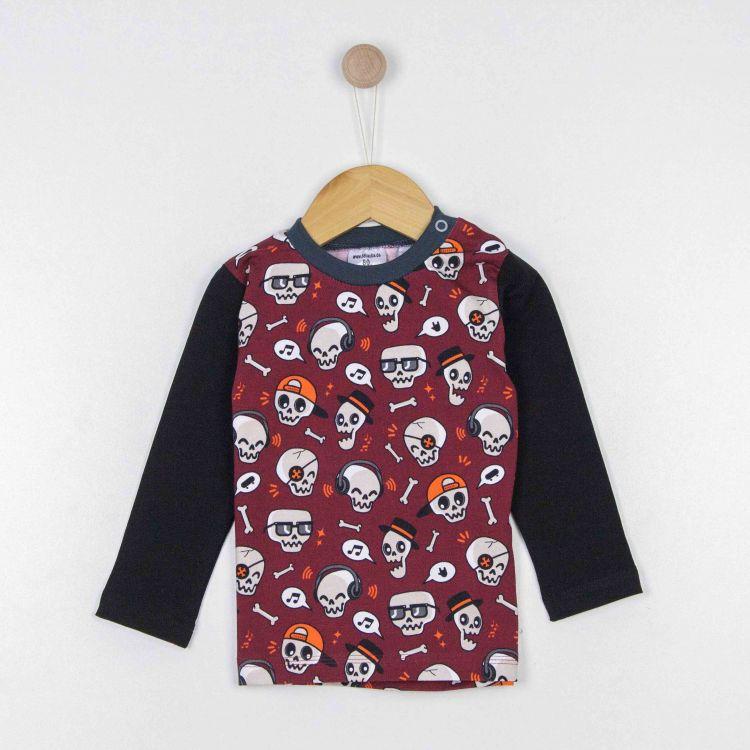 Kids-Langarmshirt - SkullGang