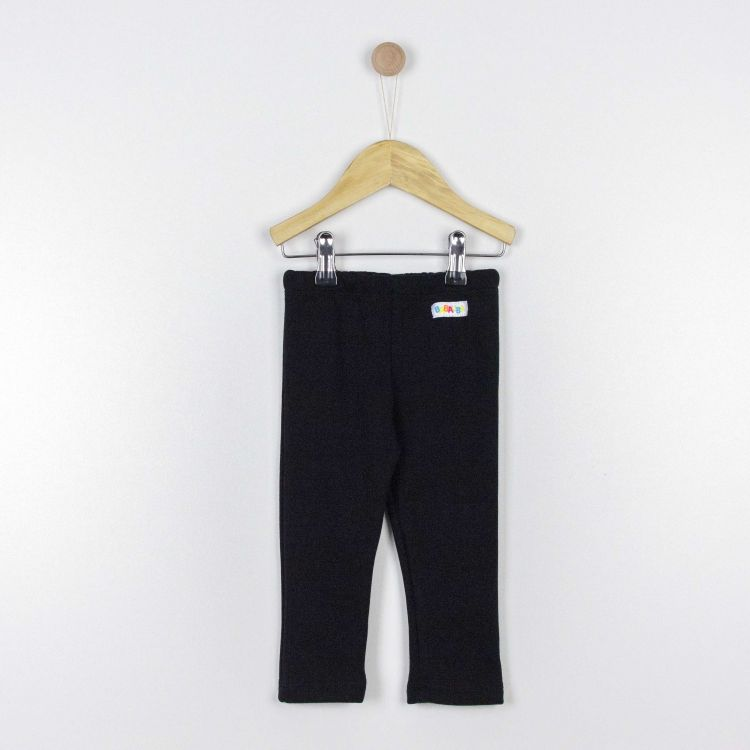 Kids-Thermo-SkinnyPants - Schwarz