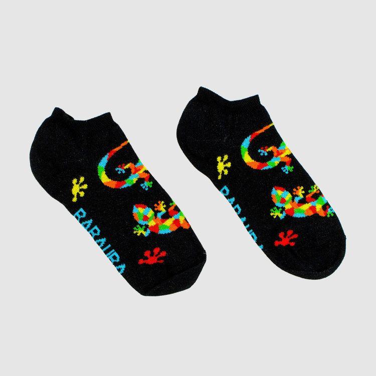 Kids-Sneaker-SockiSocks - DiamantSalamander-Black