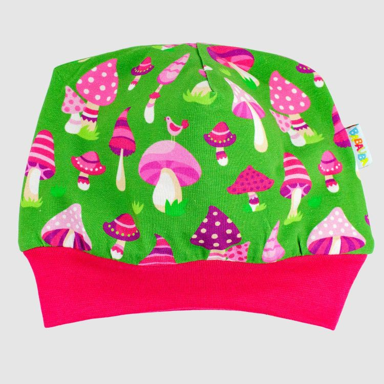 Winterbeanie PinkMushrooms