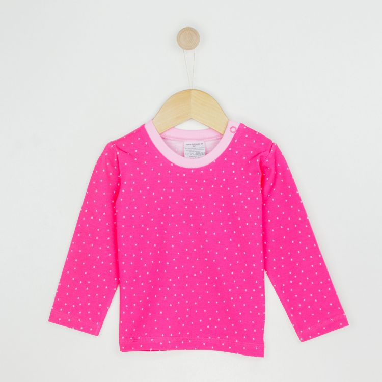 Kids-Langarmshirt - PinkDots