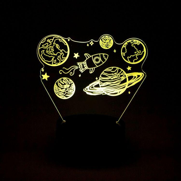 LED-Lampe BabaubaPlanets