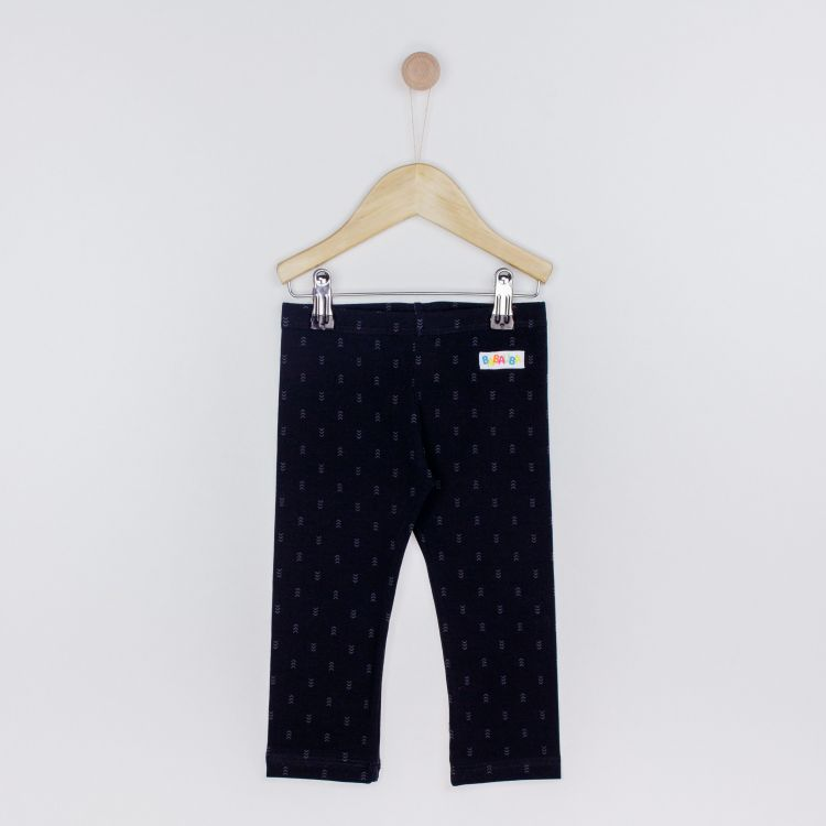 Kids-SkinnyPants - TinyArrows-Black