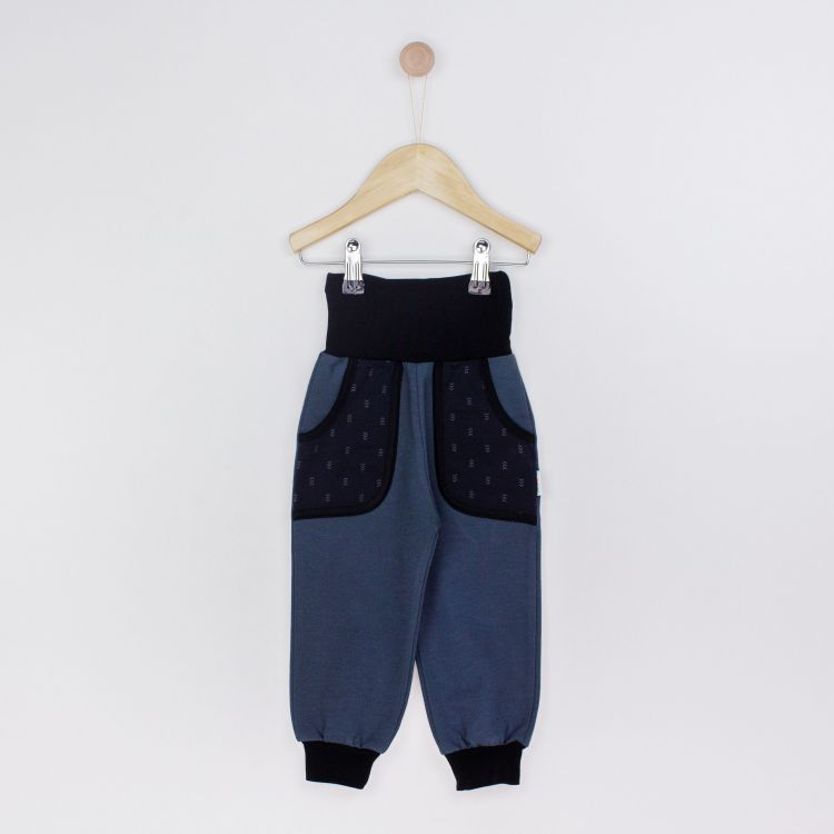 Kids-CoolPocketPants - TinyArrows-Black