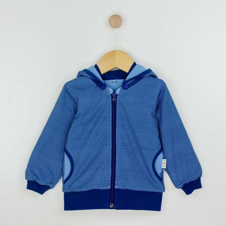 Kids-HoodieH2 - BlueStripes