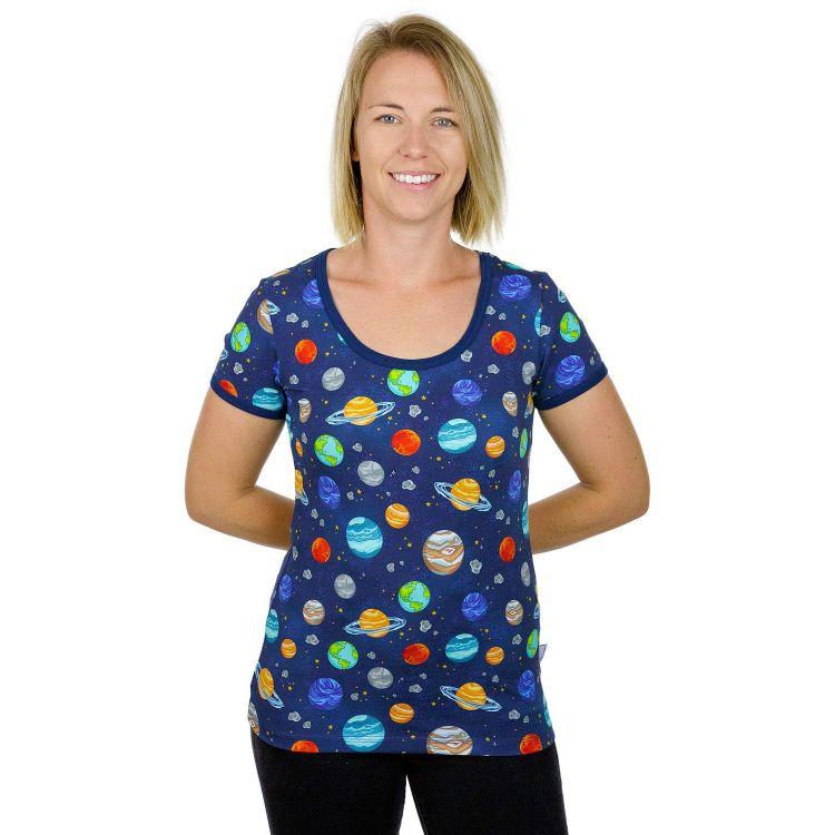 Woman-Shirt BabaubaPlanets